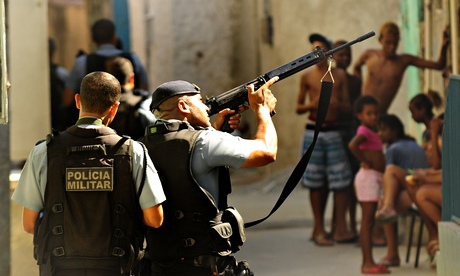 Favela crackdown