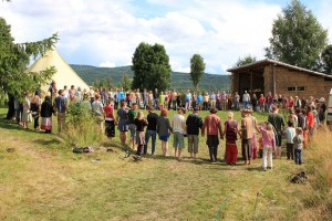 The Scandinavian Permaculture Festival. Nordic hippies!