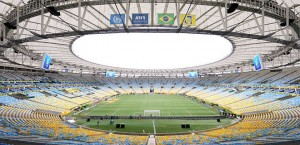 Building soccer stadiums didn't come cheap for Brazil.