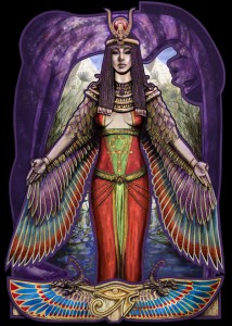 Egyptian Goddess Isis: Not involved