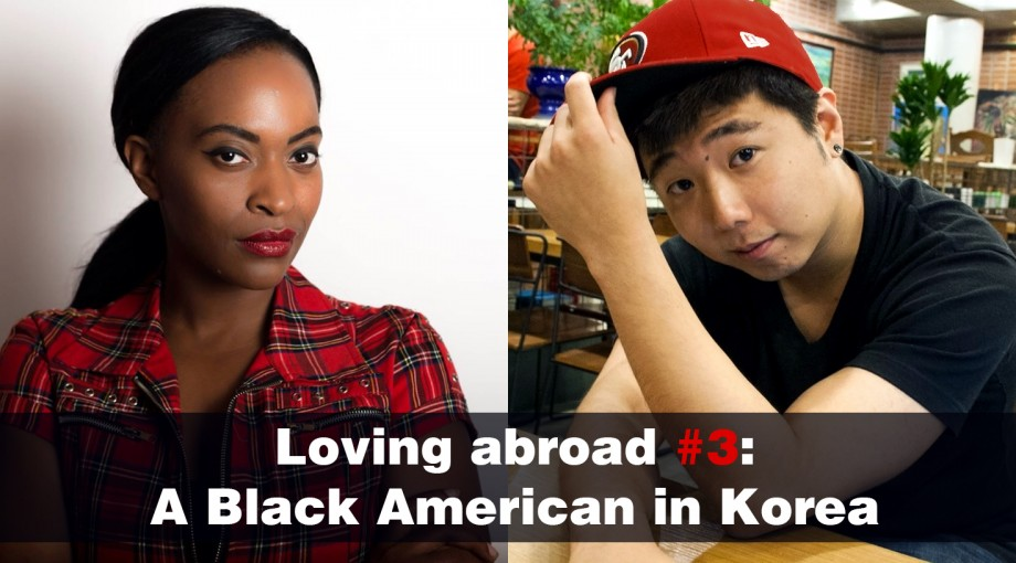 South Korea s first black model
