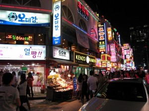 Night life in Gangnam