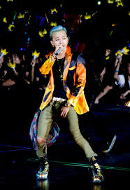 G-Dragon is one of the most popular Korean male figures.
