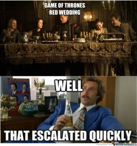 Words of wisdom from Ron Burgundy himself